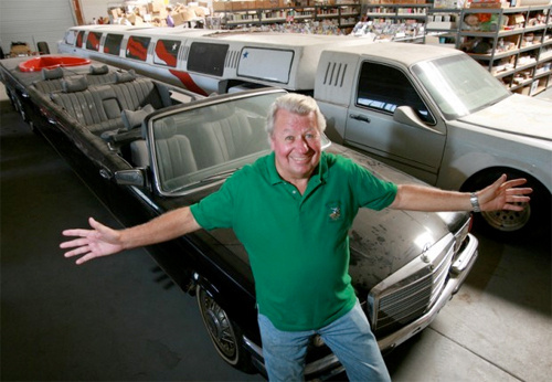 Ron Paul's Old Limo is Being  Converted to Longest-Ever Ride