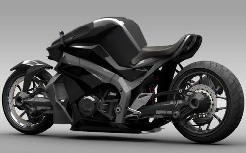 High-Tech 2WD Ostoure Superbike Is Straight Out of Skynet's Garage
