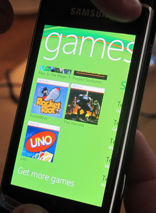 Xbox Live on Windows Phone 7 Hands On: Mobile Levels Up