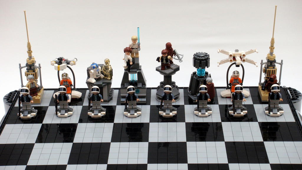 Lego Star Wars Chess Sets Swankier Than Vader 39 S Vinyl