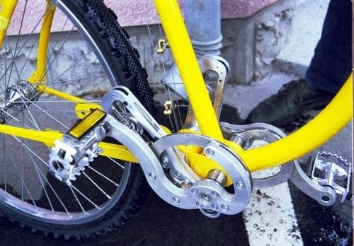 Hungarian Stringbike Prototype Swaps Chain for Wires