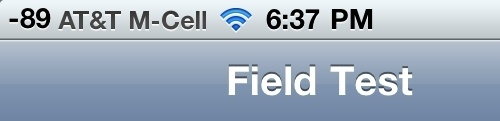 Check Your iPhone 4's Antenna Reception With Field Test Mode In iOS 4.1