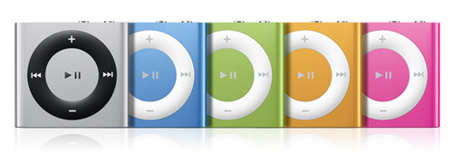 The New iPod Shuffle (and Its Buttons!)