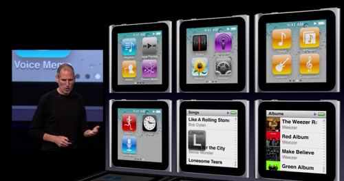 The New Multitouch iPod Nano