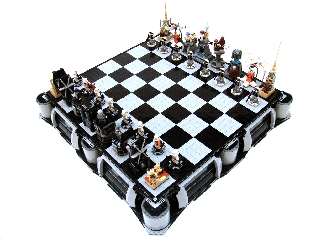 Lego star wars chess sets swankier than vader s vinyl underpants
