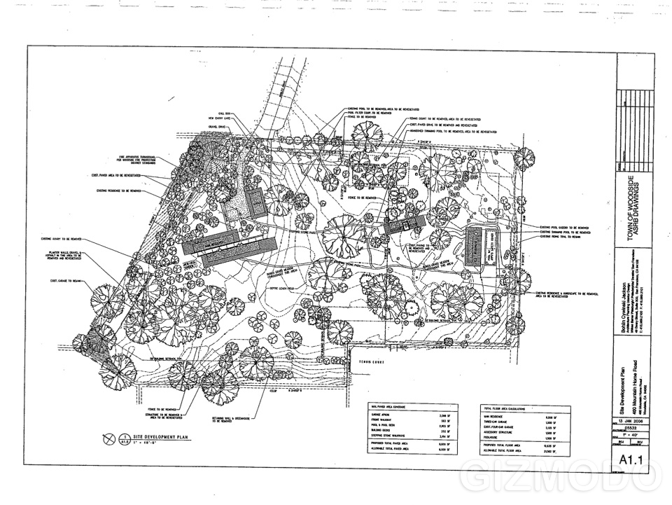 exclusive the plans for steve jobs 39 s house gizmodo
