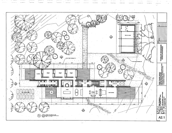 Exclusive: The Plans For Steve Jobs's House