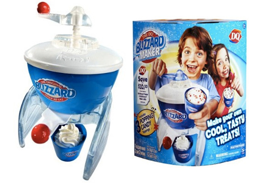 how to make a blizzard at home