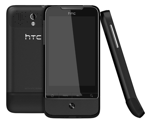 """HTC Paints Its Already-Stunning Legend and Desire in """"Phantom Black"""" and """"Brilliant White"""" Hues"""