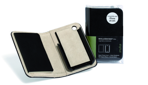 Real Moleskine Covers for iPhone and iPad