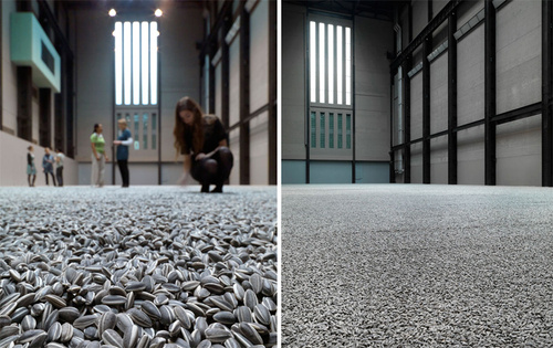 The Tate Modern's New Art Installation: 100 Million Hand-Painted Sunflower Seeds