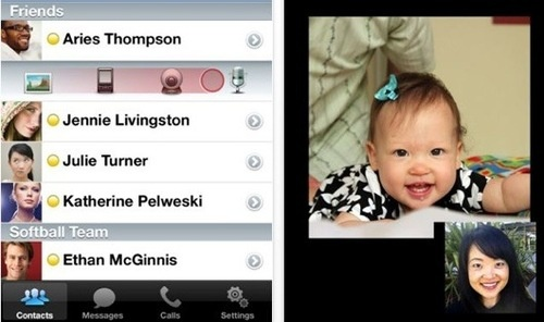 Yahoo! Messenger iPhone App Gets Updated With Free Video and Voice Calls