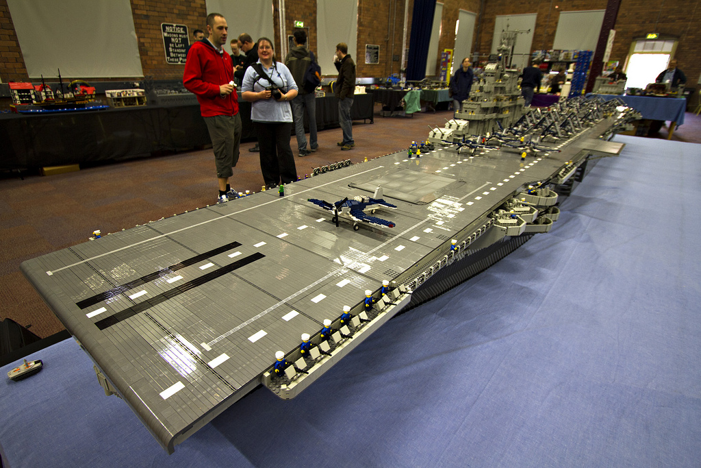 Largest Lego Ship Ever Built Is Bigger Than Three Queen