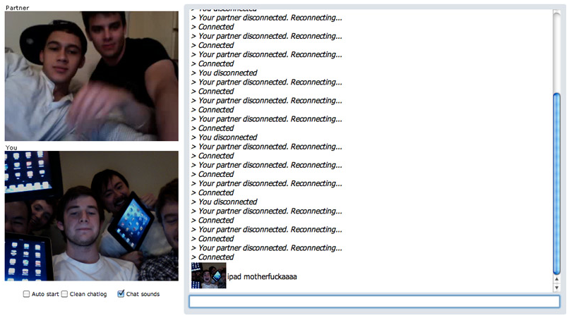 chatroulette naughty