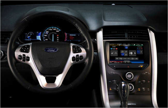 Ford Redesigns Car Dashboards To Be More Like Mobiles Gizmodo - Cool car dashboards