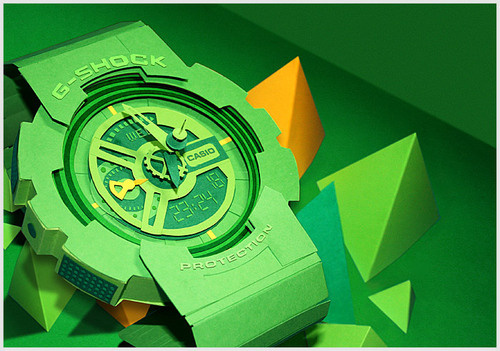 I'd Wear This G-Shock Watch Made From Paper