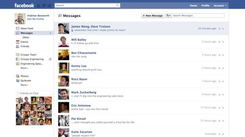 Facebook Messages: Every Email, Text, and Chat In One Place