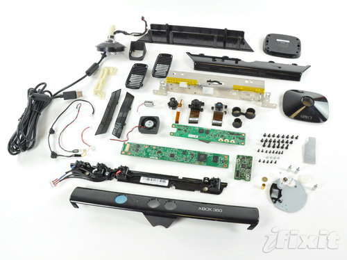 Microsoft Kinect Gutted: Four Microphones, Two Cameras, And One Very Important Fan