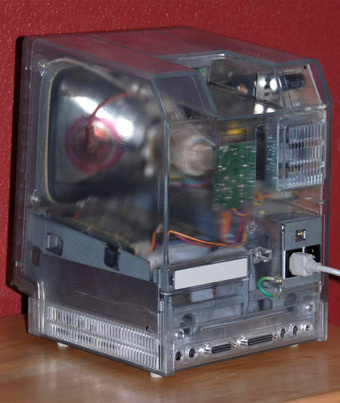 Rare Transparent Mac SE Can't Sell for ,000