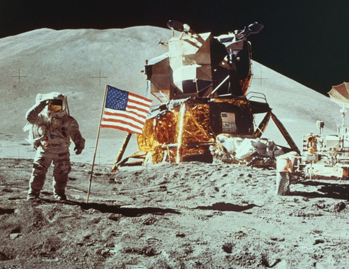 Neil Armstrong Explains Why He Didn't Run Wild on the Moon