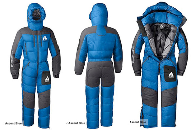 Mt Everest Climbers Can Wear This Sleeping Bag Suit Of ...