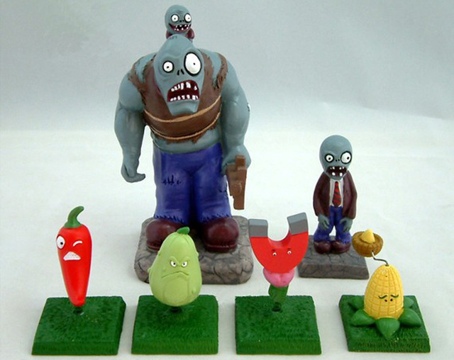 These Plants Vs Zombies Toys Are Going Right On My Lawn