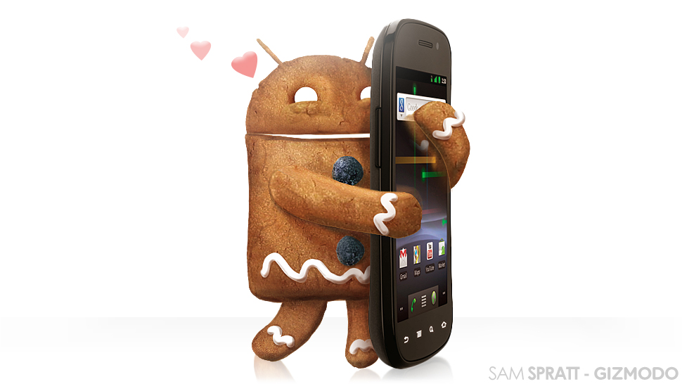 Android 2.3 :Ginger Bread