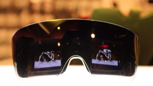 Money Shot: The Lady's Polaroid Glasses Look Gaga