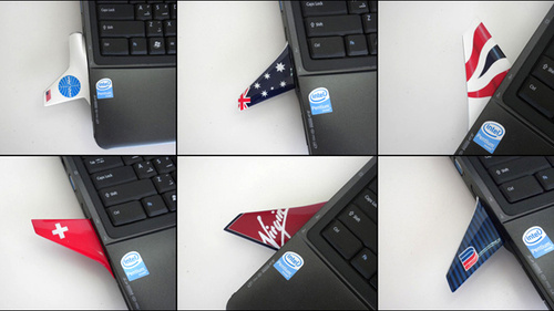 Make Your Laptop Fly With USB Wings