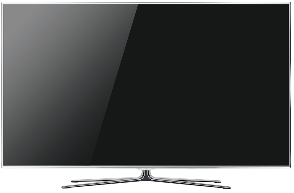Samsung's best new tv the un65d8000 is skinny and internet y