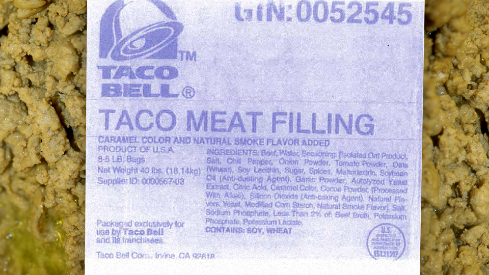 Taco Bell's Beef Is Actually Beef: Lawsuit Dropped