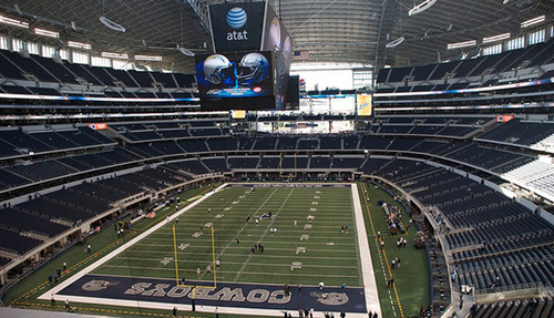 Cowboys Stadium Techs Up for Super Bowl Close-Up