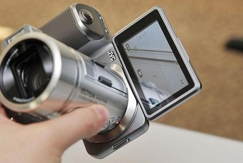 The JVC GX-PX1 Is a Great Looking Hybrid Camera