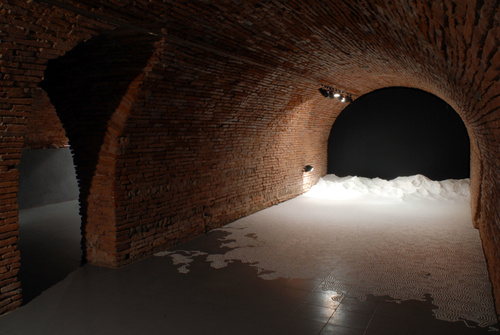 What Happens When You Give an Artist 2,200 Pounds of Salt and Five Days?