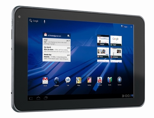500x t mobile g slate low res side A Dual Core, Honeycomb Tablet With a 3D Display [Tablets]