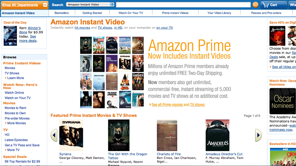 Well, this was unexpected. Amazon appears to have quietly made its streaming entertainment service - Amazon Prime Video - available in Australia.
