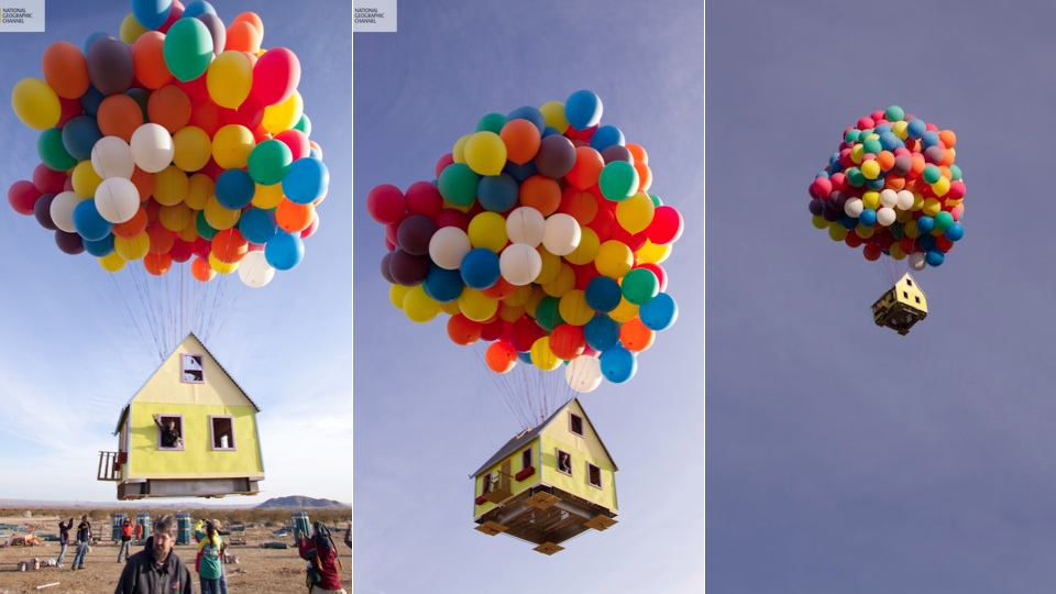 The House From Up Has Been Built In Real Life And It