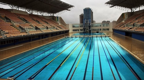 27 olympic pools 39 worth of radioactive water in fukushima gizmodo australia for How much is an olympic swimming pool