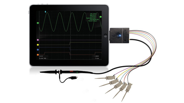 Oscium Turns Your iDevice Into The World's Smallest Oscilloscope