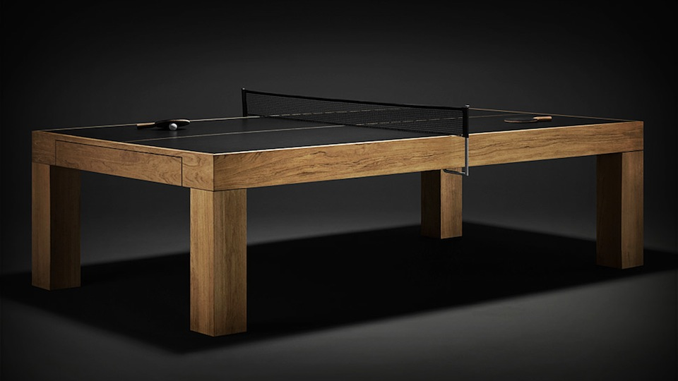 Superb Ping Pong Tables Have Never Been So Classy