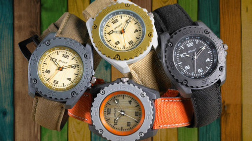 Go Green With The Sprout Biodegradable Watch