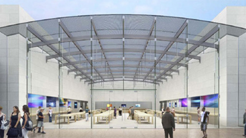 New Apple Store To Be Made Entirely Out of Glass