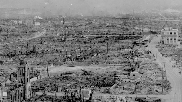 Panorama Of What Hiroshima Looked Like After The Atomic Bomb
