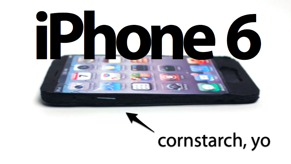 iphone6 cornstarch iPhone 6 will feature NFC, 4.8 inch screen...?