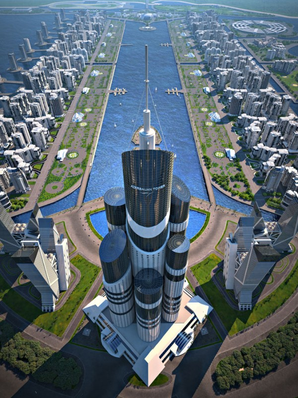 The Highest Skyscraper In the World Will Be This 1,050-Kilometer-High Turd