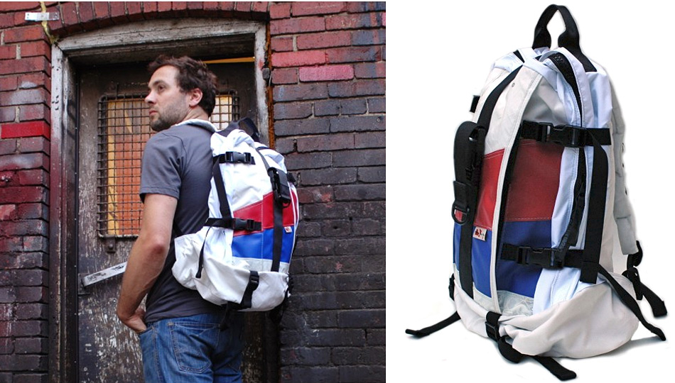 Recycled Air Bag Backpacks Save the Environment, Not Lives
