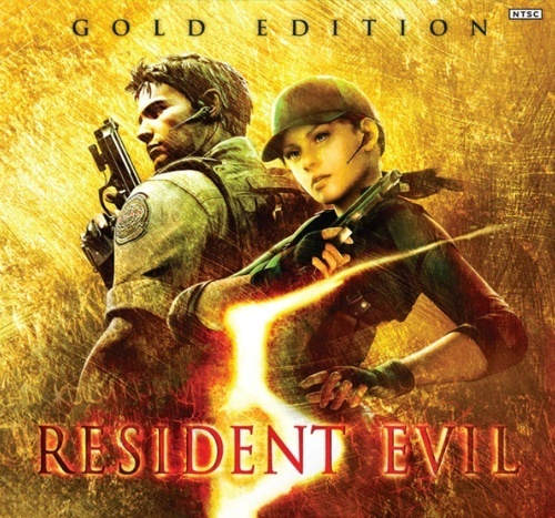 Capcom anuncia que Resident Evil 5: Gold Edition podrá descargarse desde PlayStation Store 500x_golded