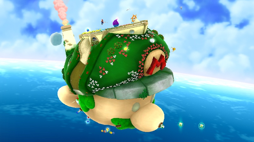 Planet mario and map suggest super mario galaxy 2 secrets for Plante mario