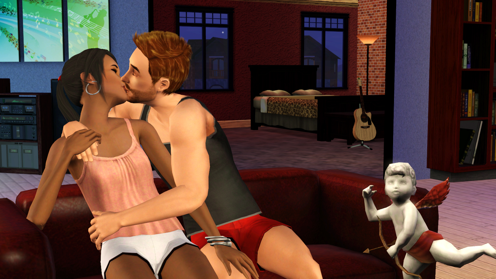 Porno sims game softcore videos