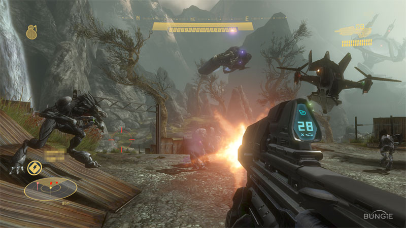 microsoft offers halo  reach beta  free ms points to